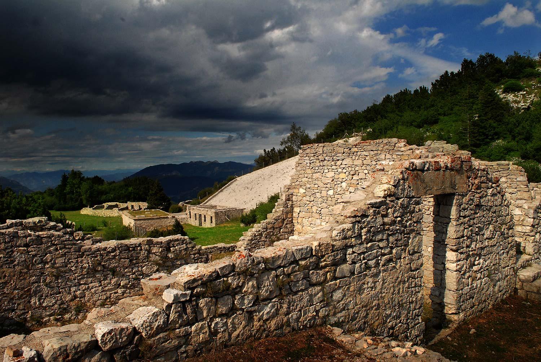 Parco della Pace-Monte Zugna-centenario grande guerra