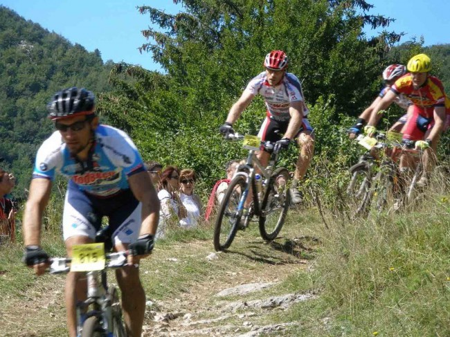 Mountain bike in Lessinia-mtb