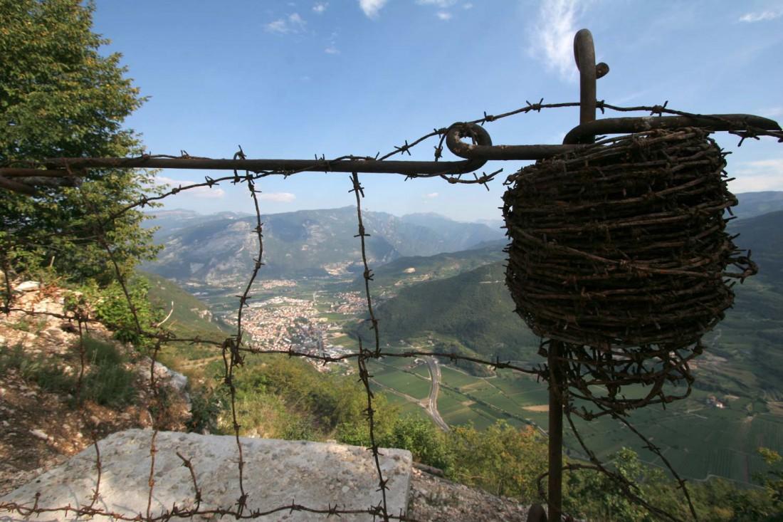 Trincee del Nagià Grom-centenario grande guerra-sentieri della storia