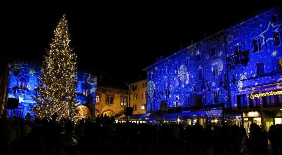 Natale a Rovereto Piazza Rosmini