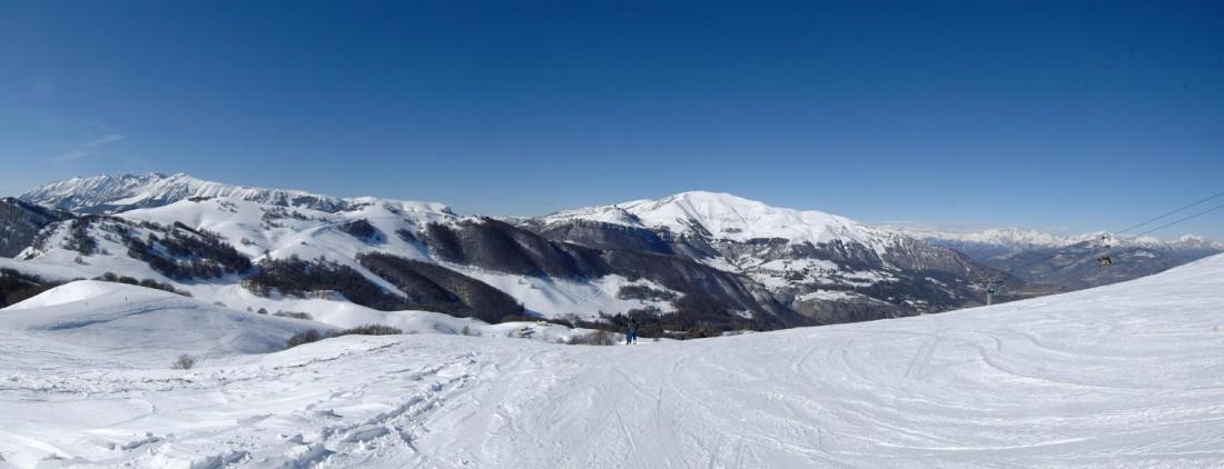 Monte Baldo inverno - panoramica