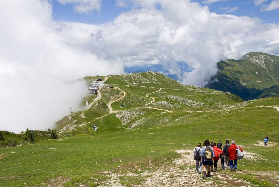 corsa in montagna-Vivai Passerini-Azienda agricola Maso Palù-genitori single-wellness-Parco del Monte Baldo