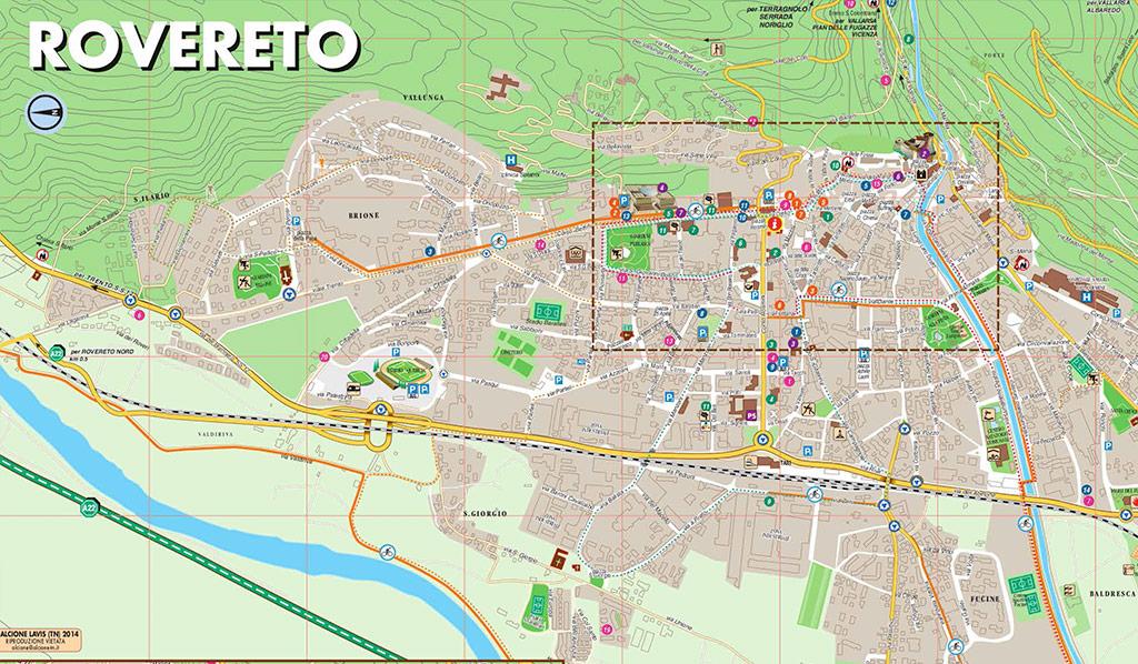 Mappe apt rovereto e vallagarina - Mappa messico mappa da colorare pagina ...