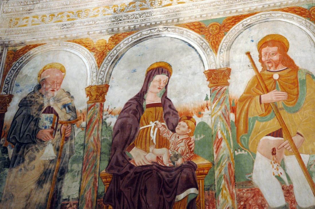 Affreschi-artisti-veronesi-Chiesa-di-S.Rocco-Volano-visitrovereto