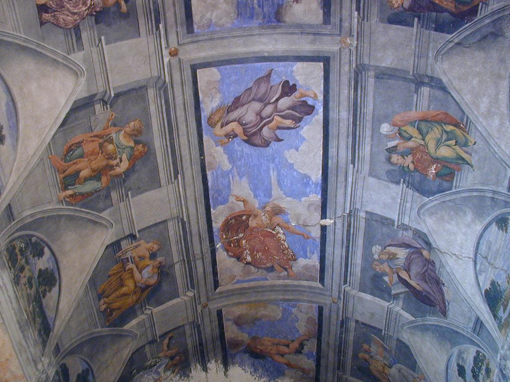 Castel Noarna, affreschi