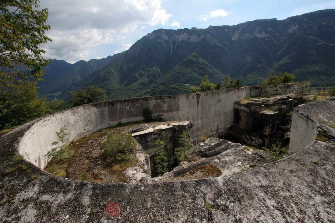 trekking trentino-Gita scolastica-Forte Pozzacchio-centenario