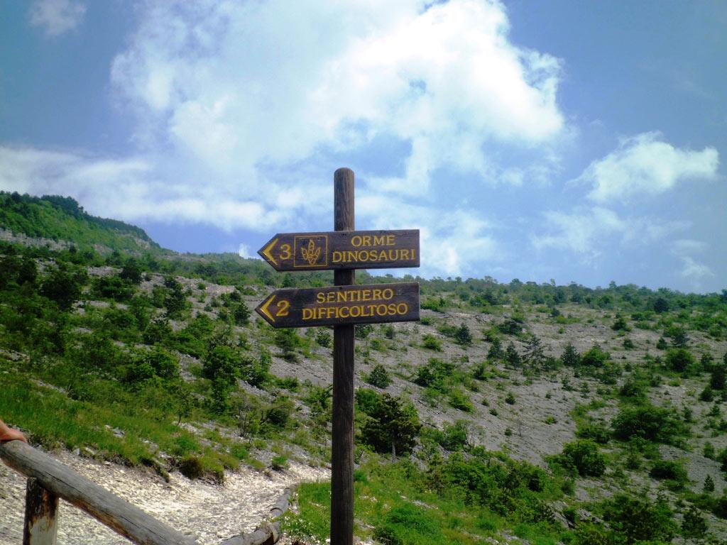 Orme dei dinosauri-itinerari culturali