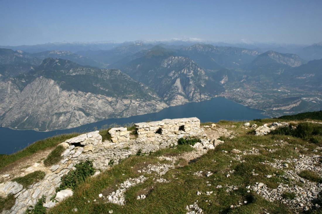 Panorama sul Monte Altissimo