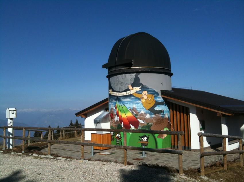 osservatorio_cupola_visitrovereto-Osservatorio astronomico Monte Zugna