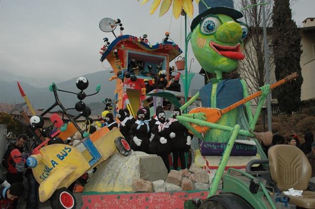 Silata carri allegorici - Carnevale di Volano