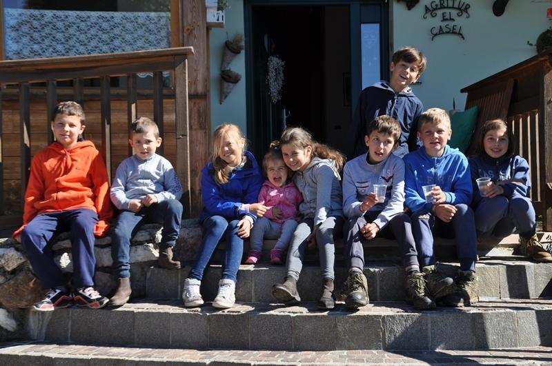 bimbi gratis sul Monte Baldo