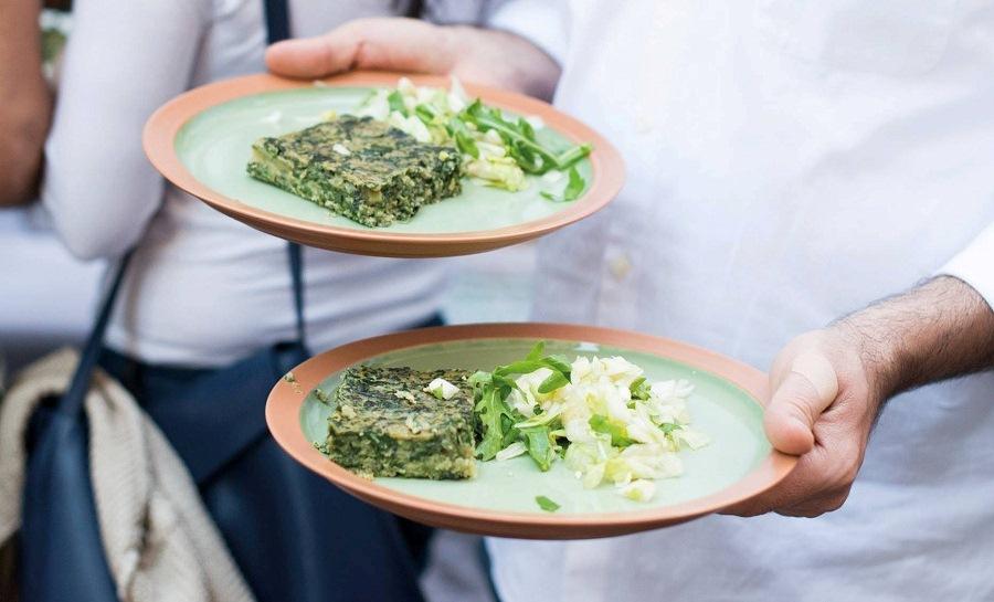 Cena in bianco e verde (1)