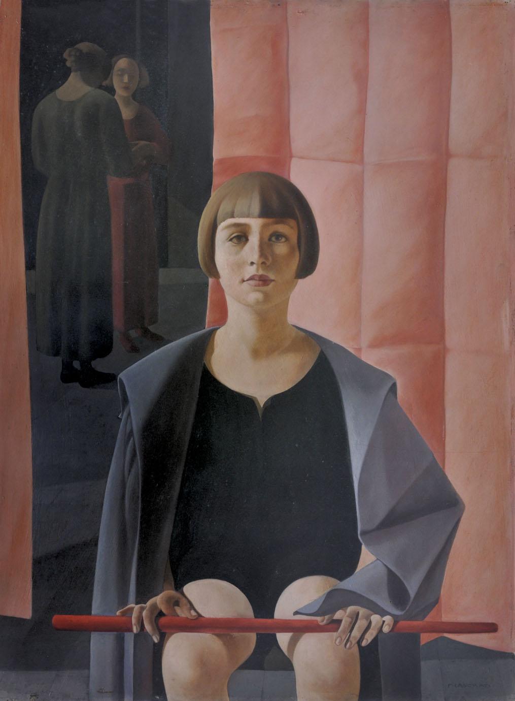 Felice Casorati_Ritratto di Renato Gualino_(1923-1924)_olio su compensato_Istituto Matteucci_Viareggio