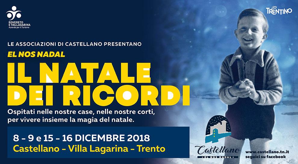 Il Natale dei Ricordi Castellano - copertina 2018