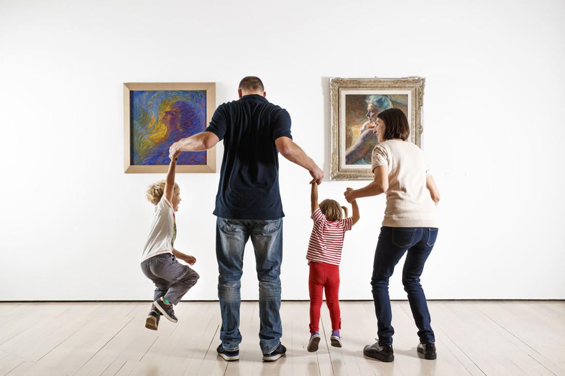 Al museo con mamma e papà 2018