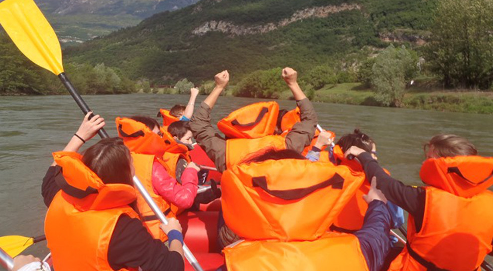 Soft rafting Adige
