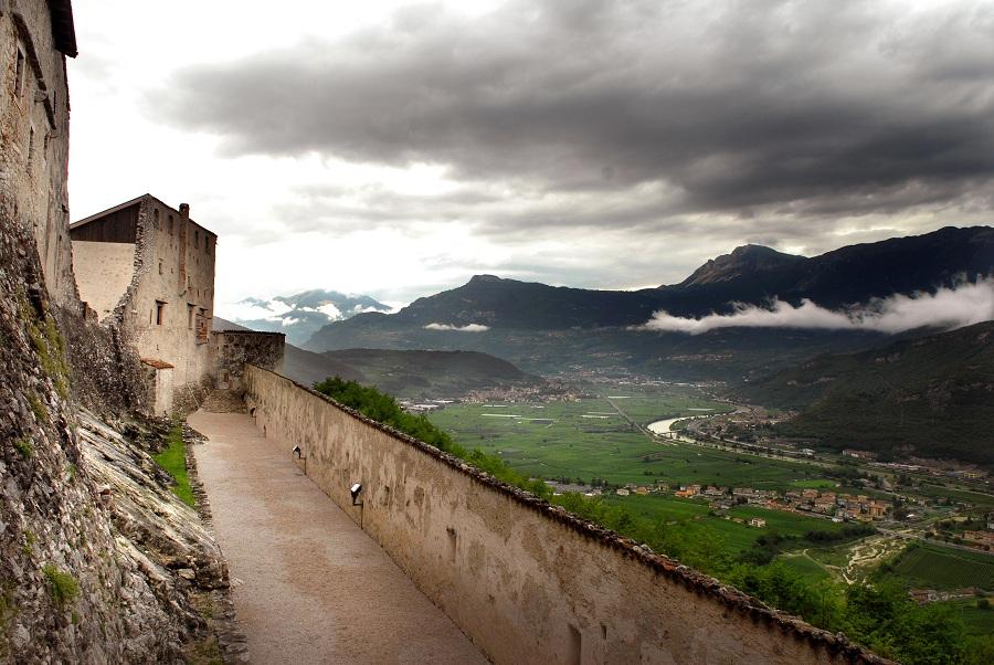 Vista da Castel Beseno