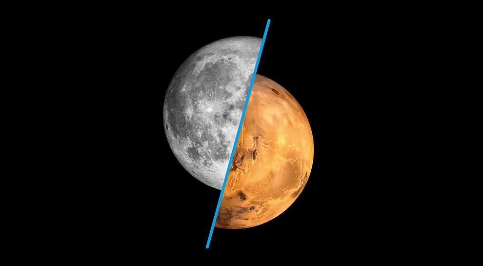 La luna e poi