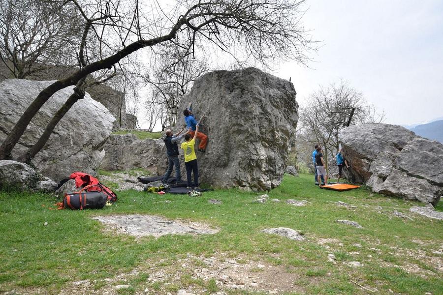 Bouldering Montalbano