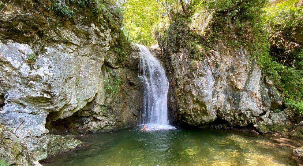 Monte Baldo - Valle Aviana - Cascata valle dei molini