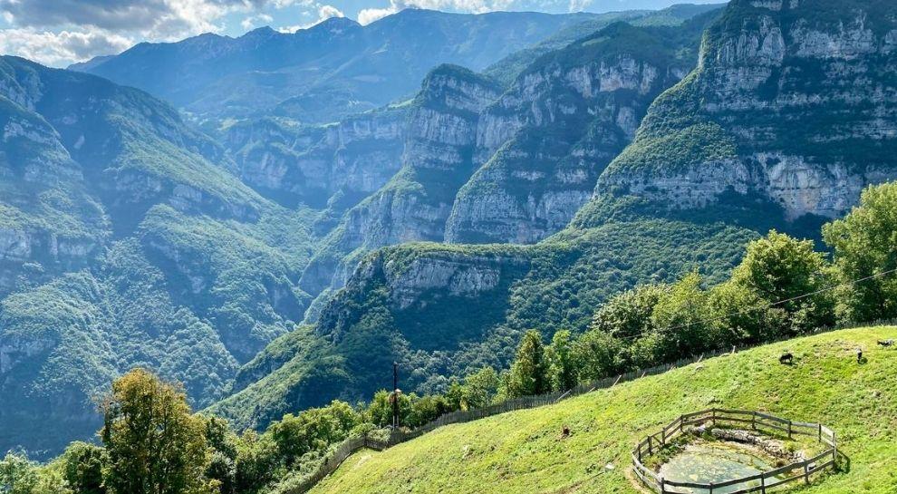 Monte Baldo - Valle Aviana - panorama da Piagù