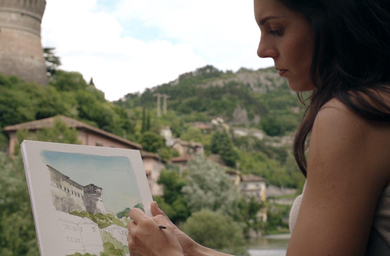 Urban sketching Rovereto
