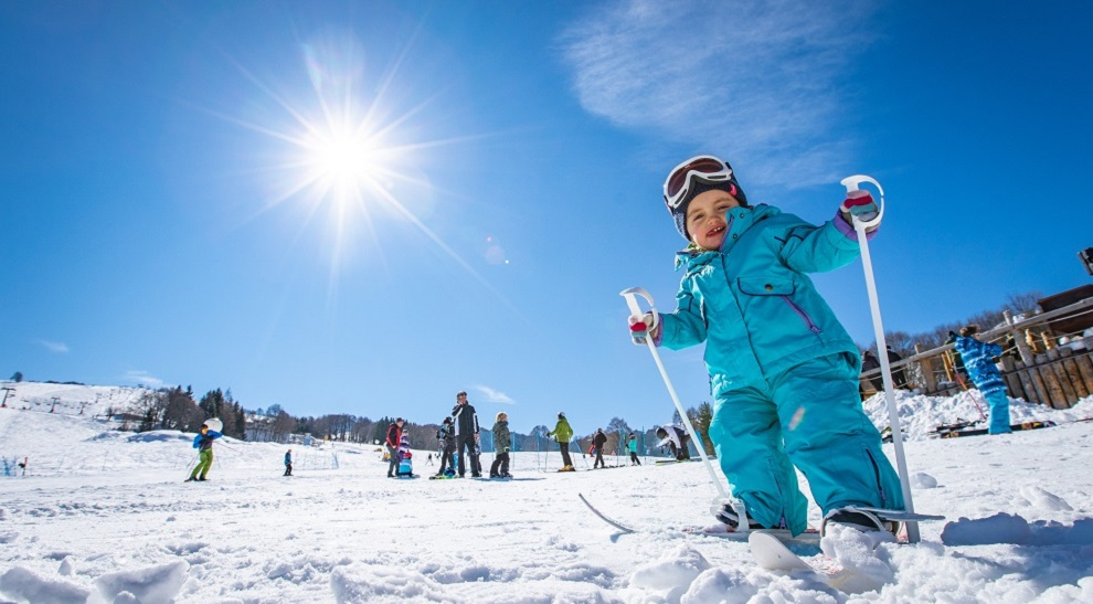 the snow of children