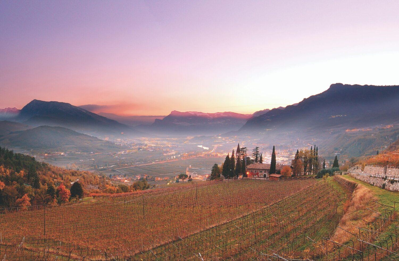 Vallagarina al tramonto - Carlo Baroni