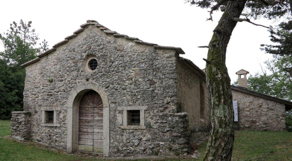Chiesa di San Martino vicino Lago di Cei - Foto credits Museo Diocesano Tridentino 1 - WEB