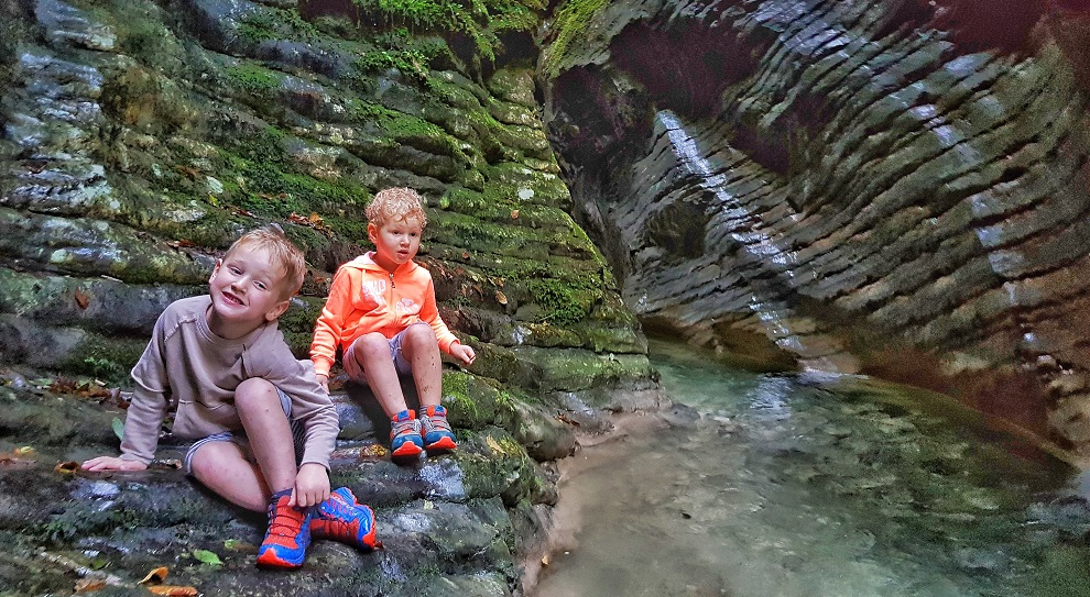 Escursione Il Canyon della Sorna Family edition