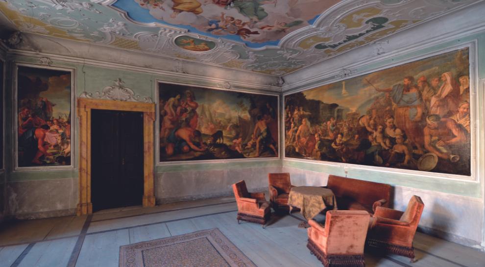 Palazzo betta Grillo Rovereto - 04 Sala del Trionfo della Gisutizia e della Pace - Andrea Frisinghelli